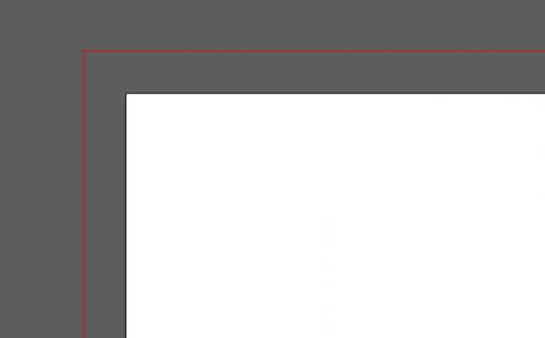 Illustratorの赤い線を消す方法1