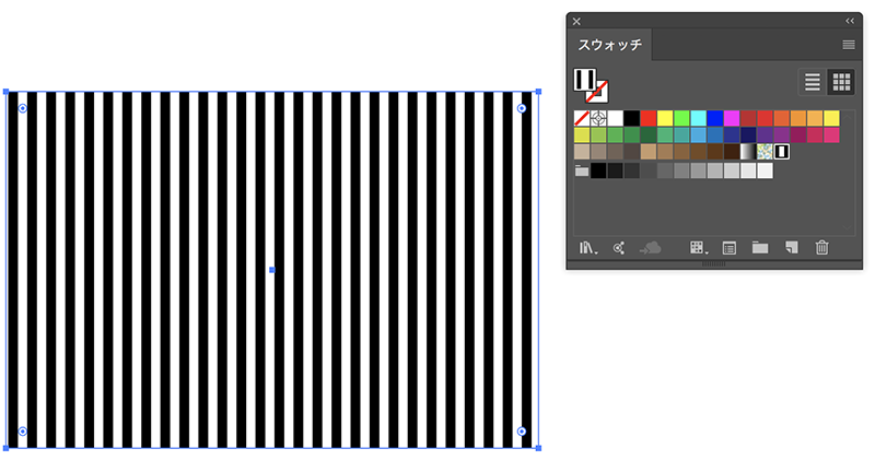 Illustrator:パターンをつくる(ストライプ・斜めストライプ編)_6